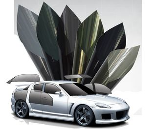 Professional Window Tint Film For Car / Construction Building Glass UV Blocking