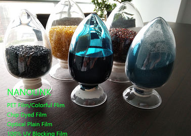 Good Quality PET Window Film & Colorful Anti Uv Masterbatch With High Concentration Pigment For Fiber / Blow Molding on sale