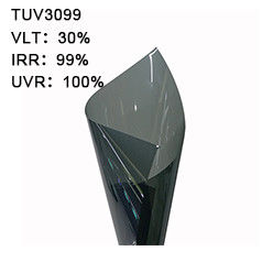 100% Uv 400 99% Irr Tint PET Window Film Car Image Glass Sun Protecting