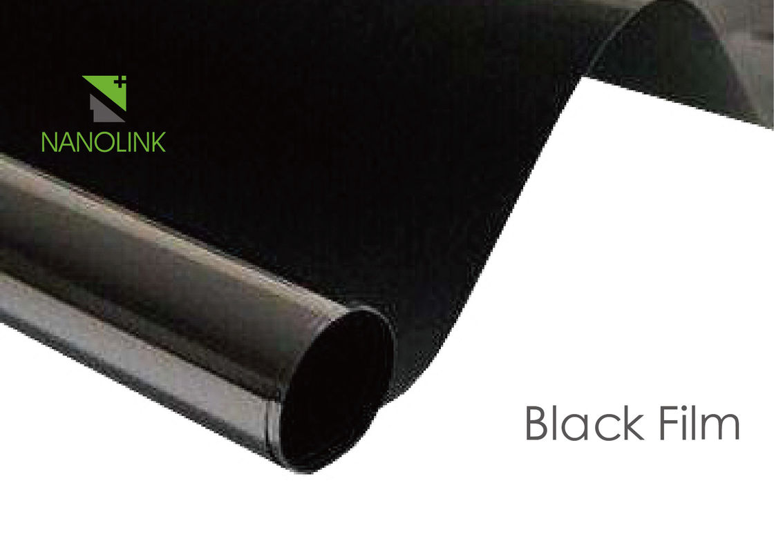 Excellent Insulation Black PET Film For Dark Tape / Electroacoustic Equipment