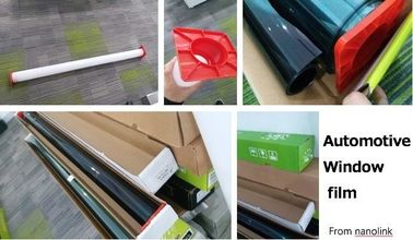 Professional Automotive Window Film / Black Heat Blocking Window Film
