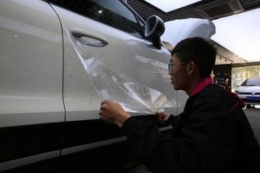Esay Installation Ppf Car Wrap / Transparent Auto Body Wrap Sticker PPF